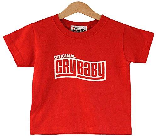 Preisvergleich Produktbild Crybaby Kids T-Shirt 1-2Jahren Kinder Rot T-Shirt