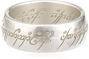 Lord of the Rings Sterling Silver The one Ring - Size K