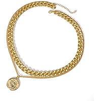 YouBella Jewellery for Women Stylish Pendant Necklace for Women & Girls (Gold) (YBNK_5819)