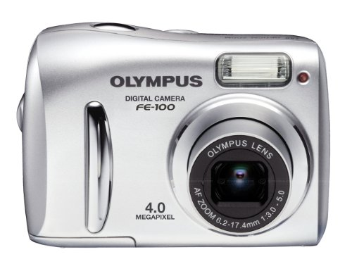 Olympus FE-100 Digitalkamera (4 Megapixel) silber