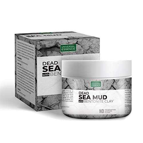 Universal Essence Natural Dead Sea Mud With Bentonite Clay Face Mask for Men & Women -150 gm