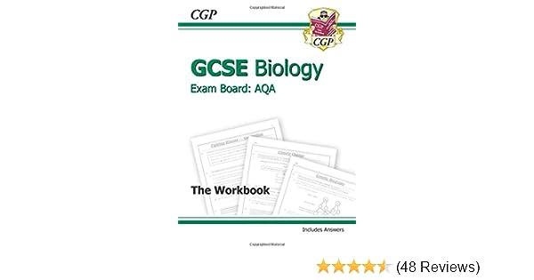 Gcse biology aqa workbook incl answers higher a g course gcse biology aqa workbook incl answers higher a g course amazon cgp books 9781847626769 books ccuart Choice Image
