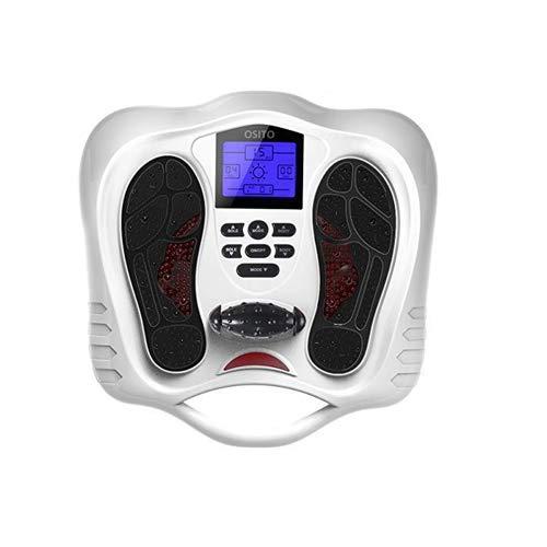 Massaggiatore Piede Macchina con unità TENS, alleviare Il Dolore per la neuropatia, con 25 modalità di Programma, 99 intensità, 4 elettrodi Gel Pads, 2 Uscita Impulse