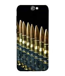 FUSON Designer Back Case Cover for HTC One A9 (Gun Control Aurora Rounds Ammunition Bullets Guns Ammo)