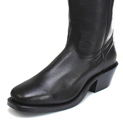 Boulet  4002, Bottes et bottines cowboy homme Noir - Noir