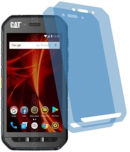 2x Crystal clear klar Schutzfolie für Caterpillar CAT S41 Displayschutzfolie Bildschirmschutzfolie Schutzhülle Displayschutz Displayfolie Folie