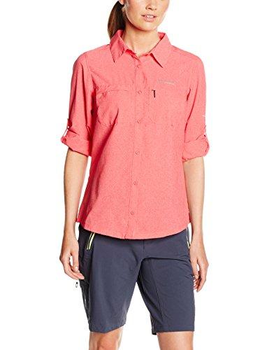 Columbia irico T-shirt à manches longues pour homme Bright Geranium Heather