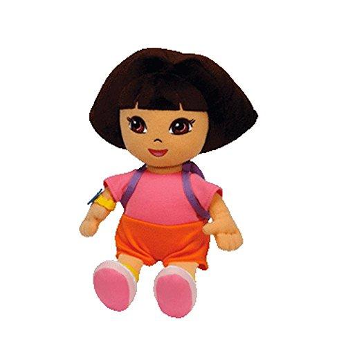 "Dora the explorer - Dora the Explorer Plush - Ty Beanie Baby - 18cm 7"""