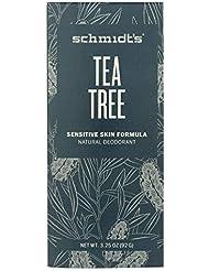 Déodorant Naturel à l'arbre à thé - Sensitive Tea Tree - Schmidt's