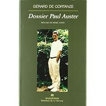 Dossier Paul Auster (Biblioteca de la memória)