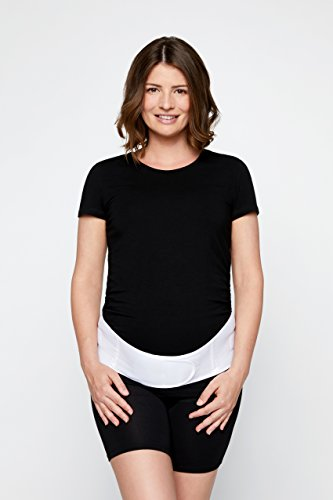 GraviBelt® Schwangerschaftsbandage - Stützt die Rücken- und Lendenwirbelsäule während der Schwangerschaft und lindert Ischiasschmerzen sowie Schmerzen im Rücken- und Beckenbereich