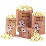 50 Popcorn Tüten Poppy Öko Gr. 1 - klein