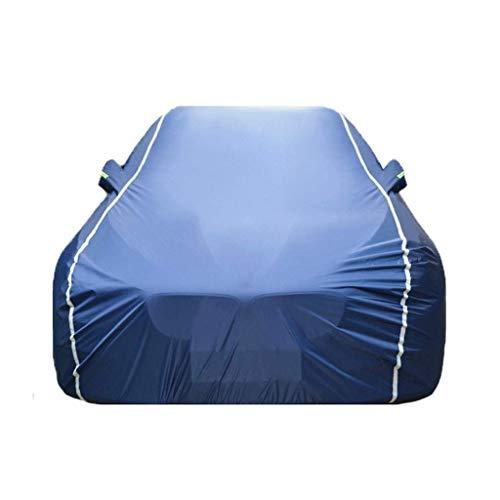 Yapin Car-Cover Kompatibel mit Renault Koleos Four Seasons Universellen Wasserdichten UV atmungsaktiv Staubdicht Schutz-im Freien Schutz Car Cover Jacken Schutzkleidung (Color : Blue)