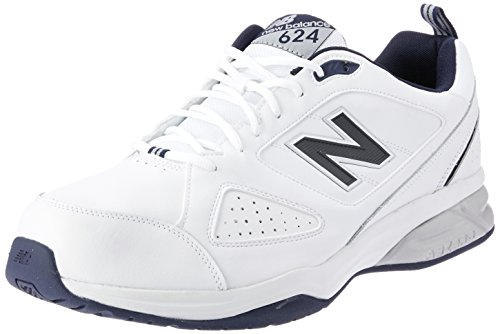 New Balance MX624WN4, Multi-Sports - Intérieur Homme - Blanc - Blanc, 40.5 EU (7 UK)