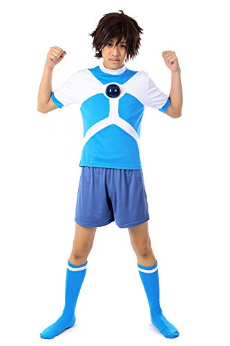 De-Cos Inazuma Eleven Team Diamond Dust Alien Academy Soccer (Uk Alien Kostüm Erwachsene)