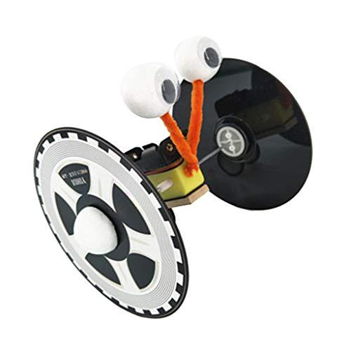 FLAMEER DIY Roboter für Kinder, Roboter Lernspielzeug, Bionik-Roboter Selber Bauen und Erleben, leicht zu montieren