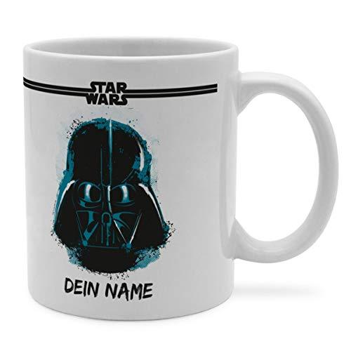 PhotoFancy Tasse Star Wars mit Namen personalisiert (Darth Vader Paint)