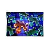 Gxdchfj Pillow Cover Pillowcases Jigsaw Puzzle Print 100% Cotton Standard Case P6