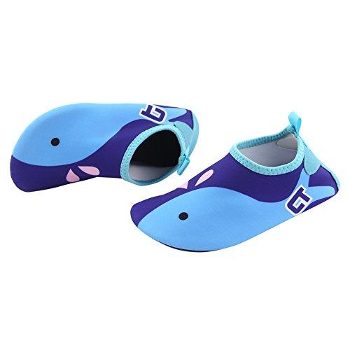 Play-Tailor-Kinder-Schwimmen-Wasser-Schuhe-Barefoot-Aqua-Socken-Schuhe-fr-Beach-Pool-Surfen-Yoga