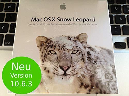 Apple Mac OS X 10.6.3 Snow Leopard auf DVD (X Leopard Snow Os)