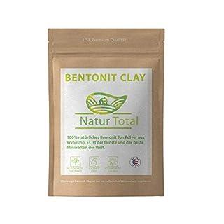 Bentonite Clay Mask für heilende Masken - USA Premium Qualität - Aztec secret indian healing clay - Dies ist 100% natürliches Bentonit Ton Pulver aus Wyoming - Vegane Kosmetik