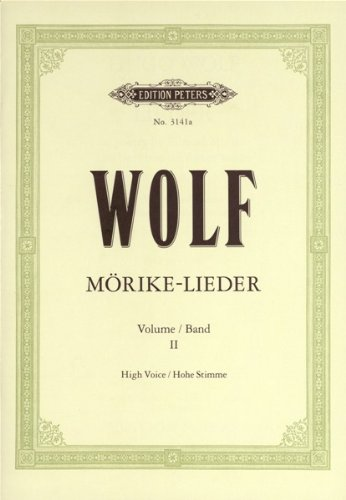 Morike-Lieder: 53 Songs Vol.2