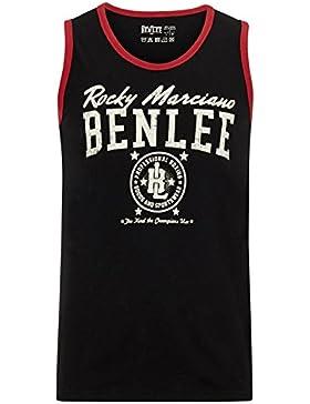 BENLEE Rocky Marciano canottiera da uomo Men Jersey Pit TSF IELD, Uomo, Men Jersey Singlet Pittsfield, nero, M