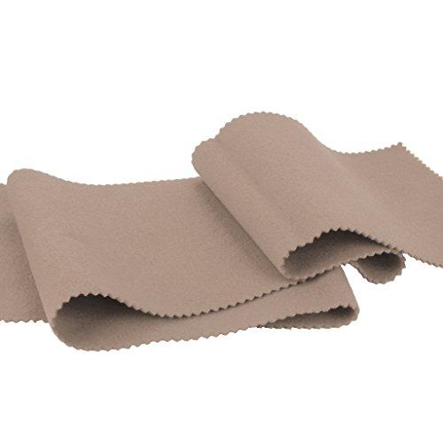Sharplace 2x Wolle Astenabdeckung Tastaturabdeckung Beige für Pianot/Anti-Fingerprint/Anti-Kratz/Wasserdicht/staubdicht - Beige