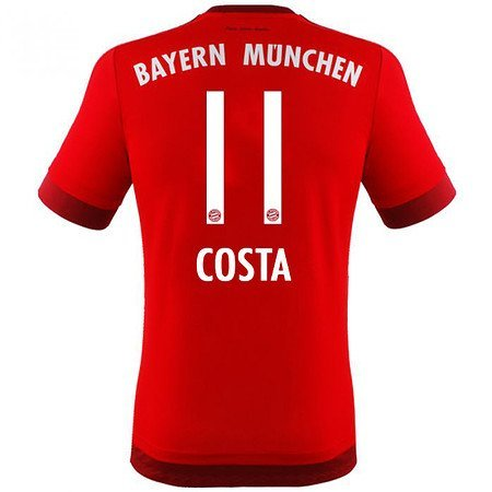 FC Bayern München Home Trikot 2015/16 - COSTA. Größe 176 (Fc Bayern München Trikot 2015)