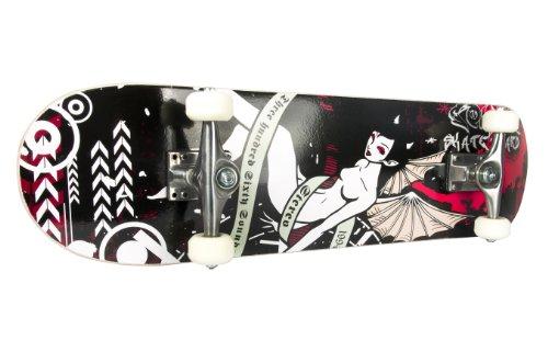 FA Sports Skateboard Skateboyz, Schwarz/Mehrfarbig, 78,7×20 cm, 413