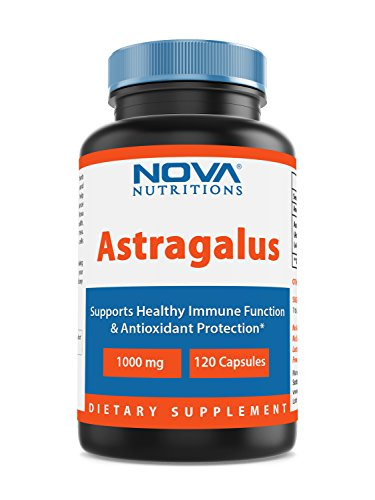 Nova Nutritions Astragalus 1000 mg 120 Capsules Test