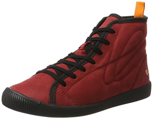 Softinos - Izi399sof Smooth, Pantofole a Stivaletto Donna rosso (rosso)