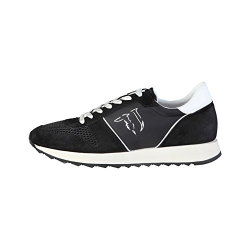Trussardi Jeans 77S064 Blu e Nero Sneakers Uomo Scarpa Sportiva Casual