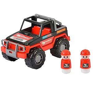 Polesie Mammoet De plástico vehículo de Juguete - Vehículos de Juguete (Negro, Rojo, Coche, De plástico, Niño/niña, 145 mm, 23,5 cm)