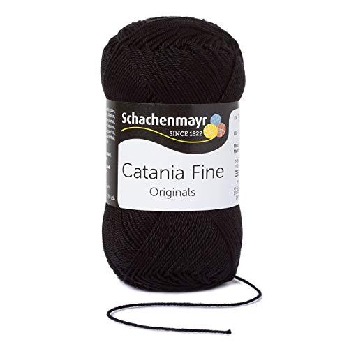Schachenmayr Catania Fine 9807300-01001 fine Handstrickgarn, Häkelgarn, Baumwolle -