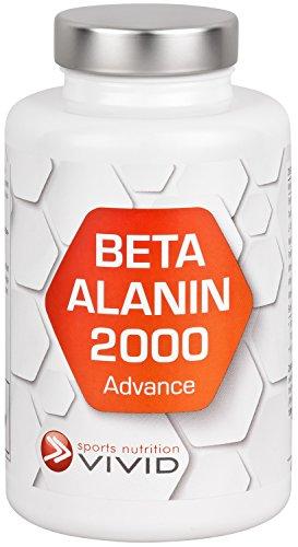 Beta Alanin 2000 Advance + Citrullin + Taurin + B-Vitamine - Für längeres + härteres Training (120 Kapseln für max. 120 Tage)