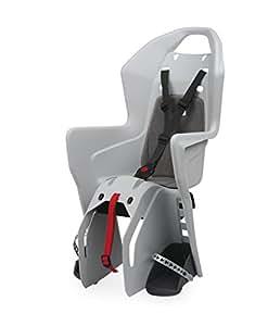 Polisport Men's Kids Koolah Seat Carrier-Multicoloured, Grey, one size