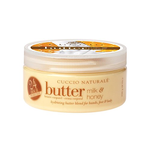 Cuccio Naturale Butter Milk and Honey Intensive Moisturiser 42g (1.5 oz) beurre corporel Lait et Miel Import par Allasiangoods