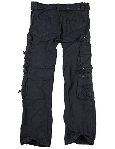 Surplus Royal Traveler Pantalon Noir Royal