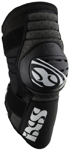 IXS Erwachsene Knee Guard Dagger Knieschoner, schwarz, XL