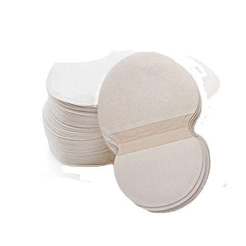 Contever 100 pezzi sudore pads ascelle tamponi di sudore traspirabilità assorbenti antitraspirante disposable ultrasottile odore di deodorante ascella pads sudore
