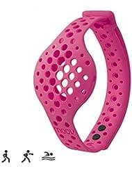 Moov Erwachsene Nowwrpi Ersatzband für Fußgelenke Now Aktivitätstracker, Pink, M