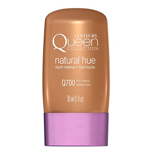 CoverGirl Queen Collection Liquid Makeup Foundation, Rich Sand 700, 1.0 Ounce Bottles by CoverGirl (English Manual)