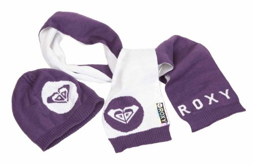 Roxy berretto e sciarpa bambino bright Pack, Bambini, Logan Berry, Taglia unica