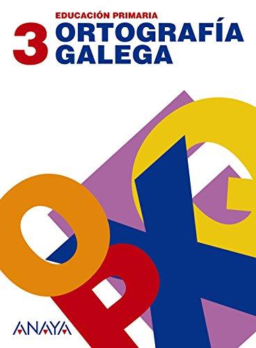 Ortografía galega 3. - 9788466785143