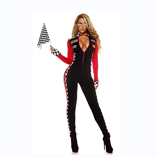 Shisky Cosplay kostüm Damen, Elastische Halloween sexy Auto -