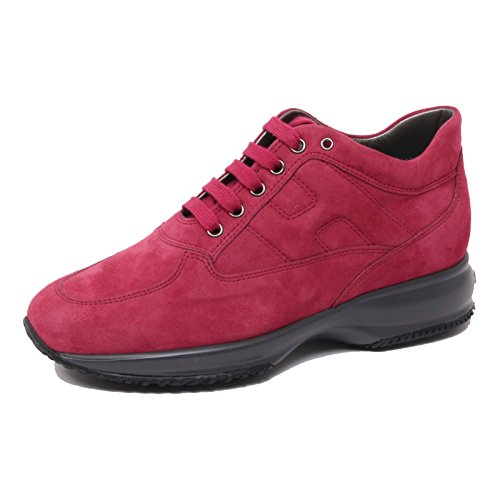 B4720 sneaker donna HOGAN INTERACTIVE scarpa bordeaux shoe woman Bordeaux