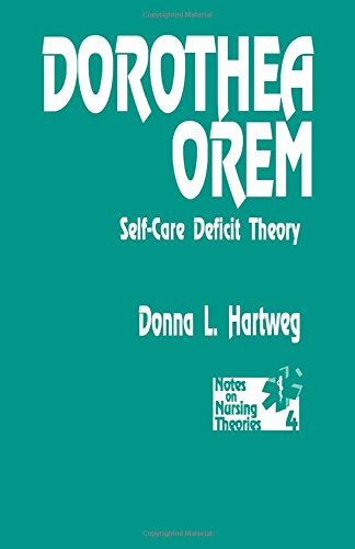 Dorothea Orem: Self-Care Deficit Theory (Notes on Nursing Theories): Self-care Deficit Theory of Nursing