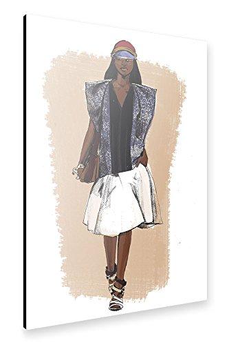 artboxone-alu-print-150x100-cm-fashion-balenciaga-iv-braun-hochwertiges-alu-dibond-bild-wandbild-fas