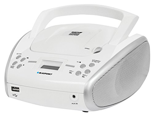Reproductor Radio/CD/MP3/USB con Bluetooth - Blaupunkt BLP8300 Color Blanco